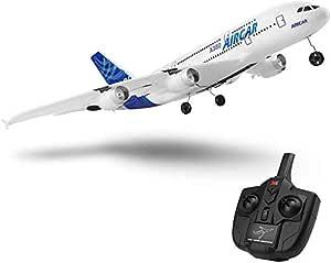 新款 A380 飞机 2.4G 3Ch 固定翼户外 A120-A380 RC 飞机玩具 Two Batteries Without Light