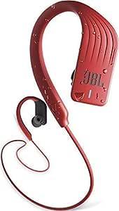 JBL Endurance Sprint 防水无线入耳式运动耳机,快速充电电池可播放8小时音乐,带免提功能,红色