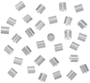 Beadaholique 144 件鱼钩耳环*背衬,小号,透明