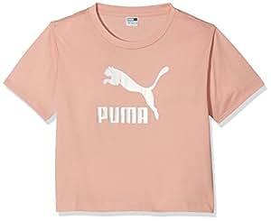 Puma 经典衬衫 - 桃红色米色,128 码
