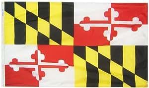 马里兰州旗 3x5' 142360