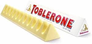 TOBLERONE 瑞士三角 白巧克力含蜂蜜及巴旦木糖100g (瑞士进口)