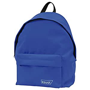 DOHE 45001 绒球背包 Daypack 风格,42 x 30 x 17 厘米,蓝色