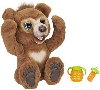 FurReal Cubby,好奇熊互动毛绒玩具,适合 4 岁及以上儿童