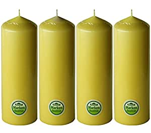 dehner 柱状蜡烛4件套