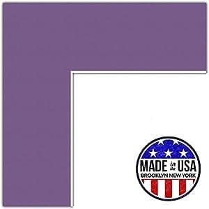 定制垫 紫色Iris 17x28 MAT-173-17x28-Grape