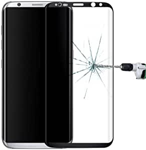 alsatek 屏幕保护膜 硬玻璃 0.3 毫米 9H 适用于 Galaxy S8/G9500 金色