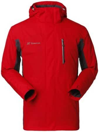 Toread 探路者 TREKKING 男式 套棉冲锋衣 TABB91666-2 中国红 175