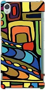 SECOND SKIN Mie 「Inca Yellow」SSOXZ3-ABWH-193-K694 for Xperia Z3/SoftBank 黄色