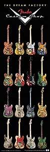 Buyartforless Fender Guitars The Dream Factory 音乐海报 12x36