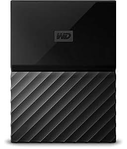 Western Digital 西部数据 4TB My Passport便携式移动硬盘 USB 3.0 黑色