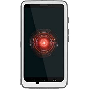 OtterBox Defender 系列手机壳适用于摩托罗拉 DROID Ultra - 散装包装 - 仅白色/灰色手机壳