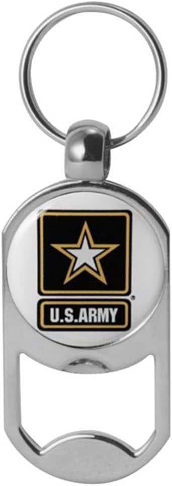 美国*星标志狗牌开瓶器*钥匙链 1-1/8 英寸 x 2 英寸