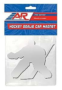A&R Sports Hockey Goalie Magnet, Chrome