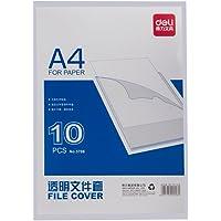DeLi 得力 5706-透明文件套(A4 单片夹) (新老包装随机发货)