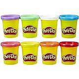 Hasbro 孩之宝 Play-Doh 培乐多彩泥 彩泥补充装 彩虹8色装 A7923