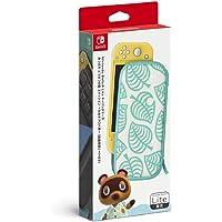 Nintendo 任天堂 SwitchLite便攜包 《集合啦!動物森友會》香波圖案 附屏幕保護膜
