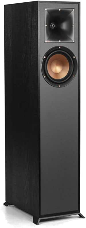 Klipsch R-610F 落地音箱,黑色