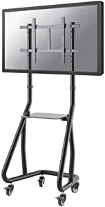 "Newstar FPMA-D945 45 15"" Full HD 黑色, 银质 液晶显示器立式支架 Max.80KG NS-M3600BLACK (车轮高度:152-169)"