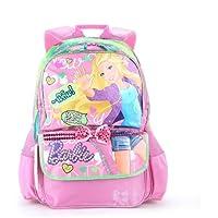Barbie芭比 小学生时尚双肩减负书包 女 学生书包 儿童书包 炫舞芭比 粉色 A279769-1