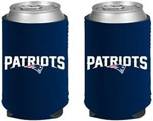 NFL 足球 2014 球队颜色标志 Can Kaddy Holder Cooler 2 件装 新英格兰爱国者队