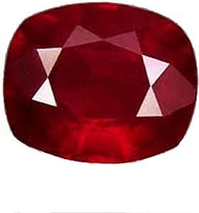 GEMS HUB 红宝石(马尼克/马纳克)靠垫 3.25 Ratti 认证 天然藤纹 宝石