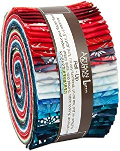 罗伯特·考夫曼卷布完全系列 Roll-up fabric roll Artisan Batiks Noel Complete Collection Robert Kaufman 43237-2