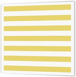 inspirationzstore 条纹图案–芥末黄色和白色条纹图案–复古经典–熨烫热转印