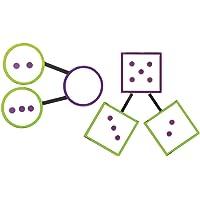 Learning Resources 巨型磁性数字债券,55 片
