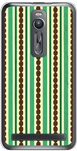Coverfull 岛屿 *×棕色 (透明) / for ZenFone 2 ZE551ML/MVNO智能手机(SIM免费终端) MASZF2-PCCL-152-M286
