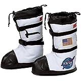 让派对来自 aeromax NASA 宇航员儿童靴子床罩/白色–尺码小号