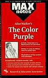 The Color Purple (MAXNotes Literature Guides) (English Edition)
