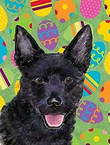 Australian Kelpie Easter Eggtravaganza Flag 多色 小号
