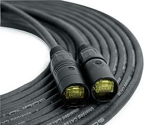SoundTools SuperCAT 屏蔽 CAT5e 以太网电缆 10 feet