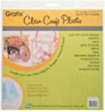 Grafix Clear Craft Plastic .020 Thickness 12-Inch by 12-Inch…