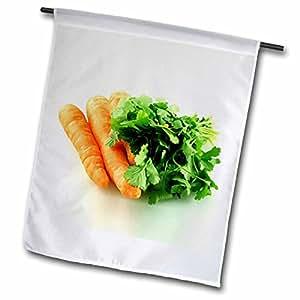 蔬菜–胡萝卜–旗帜 12 x 18 inch Garden Flag
