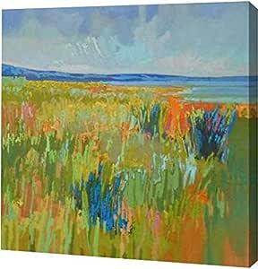 "PrintArt GW-POD-33-S1236D-24x24""Lake Shore II"" 来自 Jane Schmidt 画廊装裱艺术微喷油画艺术印刷品,60.96 cm x 60.96 cm"