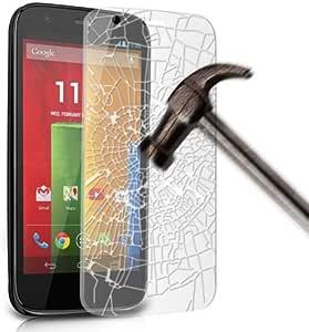 Gadget Giant 优质钢化玻璃屏幕保护膜 - 防爆防碎 - 包括超细纤维布和灰尘系列带