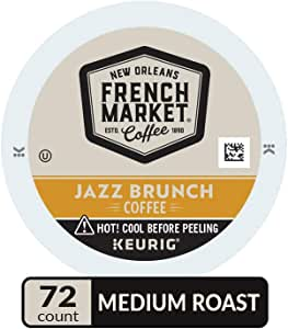 French Market 咖啡烘焙单杯 12 Count (Pack of 6)