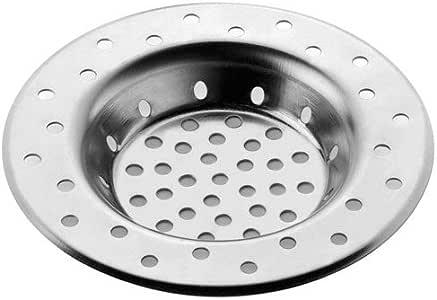 INOFIX 水槽格栅直径 80 毫米钢材质,起泡包装