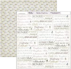 Dayka Trade 剪贴簿纸,多色,均码