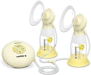 Medela 美德乐 Swing Flex 丝韵双边电动吸奶器 舒悦版,高效双韵律,9档吸力,便携舒适(含2种尺寸吸乳护罩各两个)
