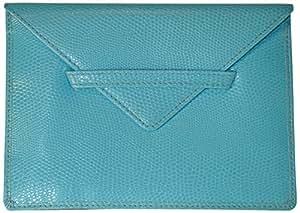 佛教蜥蜴图案 10.16 x 15.24 厘米照片信封 天蓝色