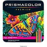 Prismacolor 高级彩色软芯铅笔,72支装