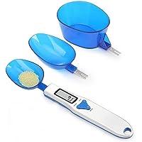 电子加重勺子多功能数码勺秤,三个不同规格的勺子,重量从 0.1 克至 500 克 支撑单位 克/盎司/gn/ct