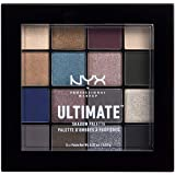 NYX Professional Makeup Ultimate Shadow Palette幻彩16色眼影盘,Ash
