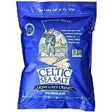 Celtic Sea Salt 海盐 5磅 可重复密封袋 - 无添加,味美,适合烹饪,烘烤等 - 无麸质,犹太洁食,原生…