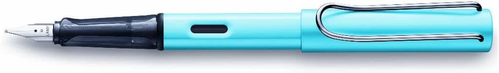 LAMY 凌美 钢笔 AL-star 补充剂 L84P 两用式 限定 正规进口商品 中笔尖 ペン先M 中字 紧身