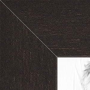 ArtToFrames 17x18 / 17 x 18 Picture Frame Espresso Walnut 2'' wide (2WOMFRBW74)