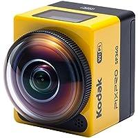 Kodak SP360使用资源管理器配件包16万像素数码相机1倍的光学图像稳定变焦和1英寸的液晶(黄色)